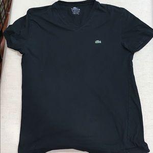 Authentic Lacoste Black T-Shirt